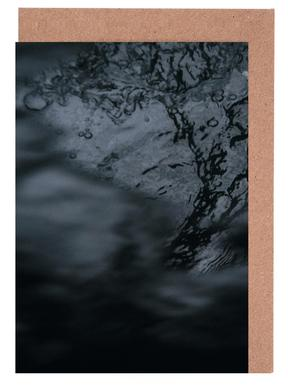 Water Pattern 3 -Grußkarten-Set