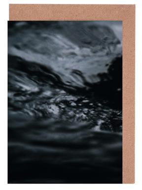 Water Pattern 4 -Grußkarten-Set