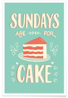 Sundays Are For Cake affiche