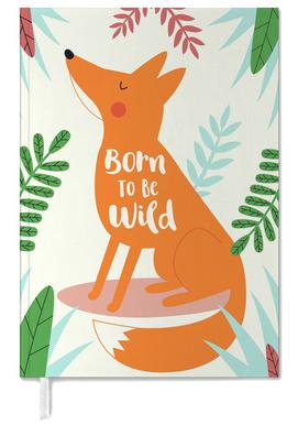 Born to Be Wild Fox Personal Planner