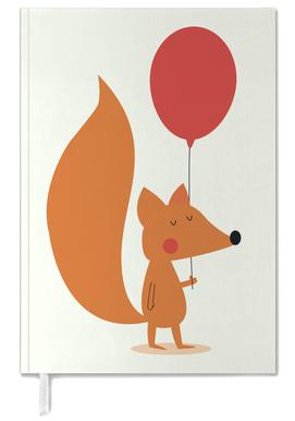 Fox with a Red Balloon