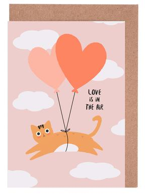 Love Is in the Air Greeting Card Set