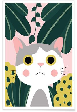 Jungle Cat -Poster