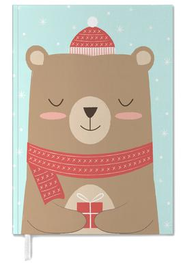 Merry Christmas Bear Personal Planner