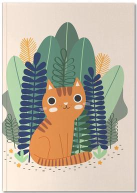 Orange Garden Cat
