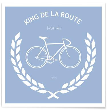 King de la route Plakat