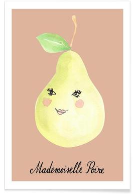 Mademoiselle Poire - Premium Poster