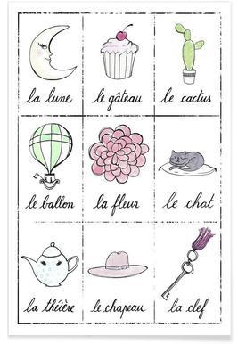 Petit cours de français 2 affiche