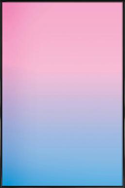 Bubble Gum - Poster in kunststof lijst