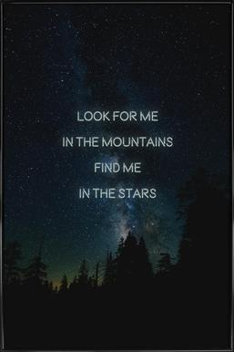 Look for me Framed Poster
