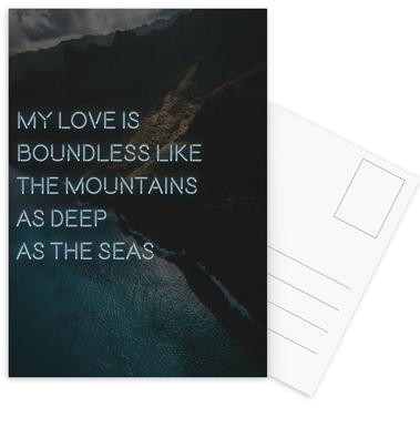 My love is boundless