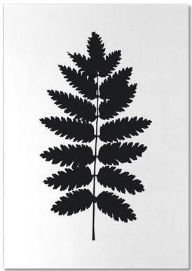 Leaf Specimen Fern Notepad
