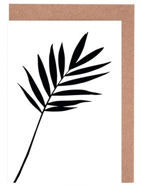 Leaf Specimen Palm Greeting Card Set