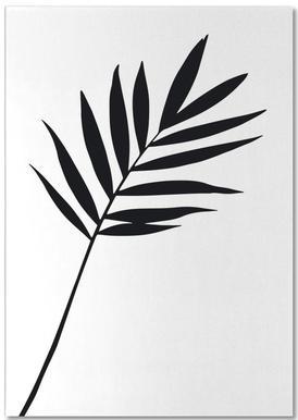 Leaf Specimen Palm Notepad