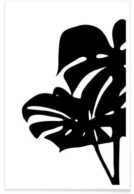 Monstera Leaf 2 Poster