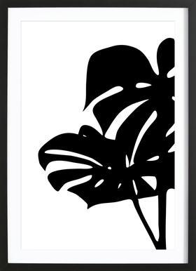 Monstera Leaf 2 Framed Print