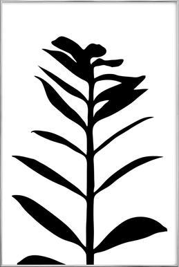 Plant 1 Poster in Aluminium Frame