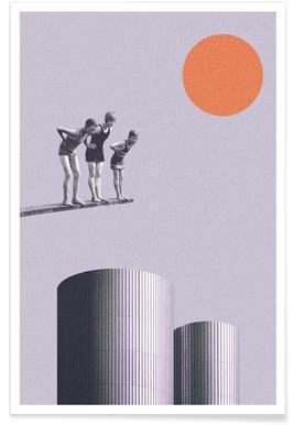 Summer Time Fun - Premium poster