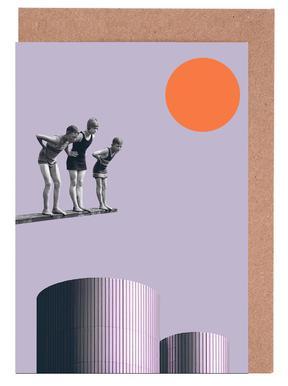Summer Time Fun -Grußkarten-Set