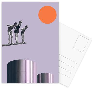 Summer Time Fun -Postkartenset