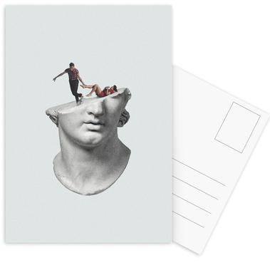 Get Out of My Head Postcard Set
