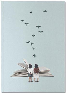 We Communicate Silently notitieboekje