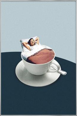 Morning Rituals poster in aluminium lijst