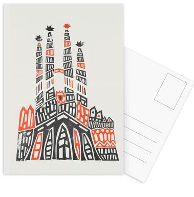 Sagrada Familia Postcard Set