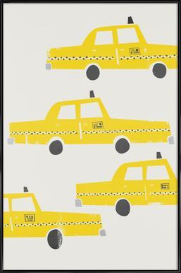 Taxi! Framed Poster