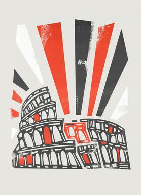 Colosseum -Leinwandbild