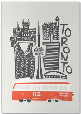 Toronto Cityscape Notepad