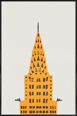 Chrylser Building Framed Poster