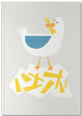 Hungry Seagull Notebook