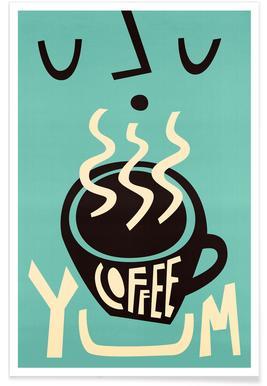 Yum Coffee poster