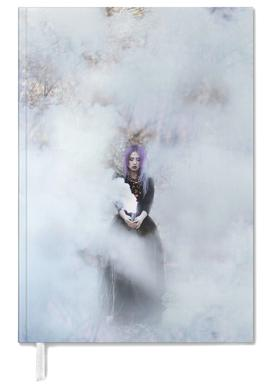 Girl In Smoke Personal Planner