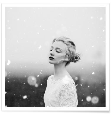 Snowing - Premium Poster