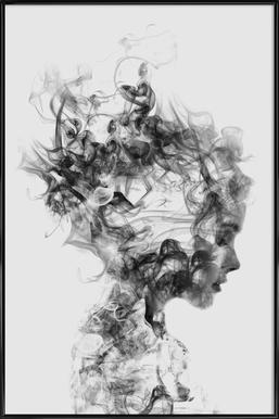 Dissolve Me - Poster in kunststof lijst