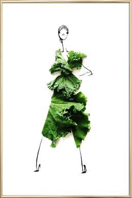 Kale 3 -Poster im Alurahmen