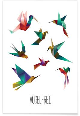 Vogelfrei Poster