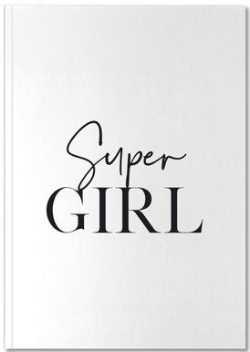 Super Girl -Notizheft