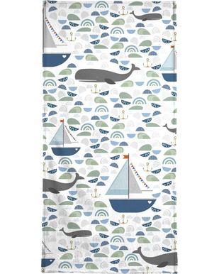 Whale Bath Towel
