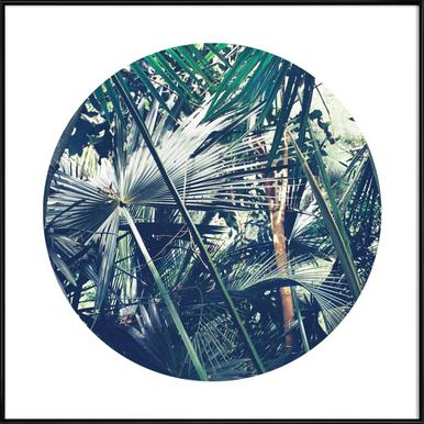 Into the Tropics (Green) Framed Poster