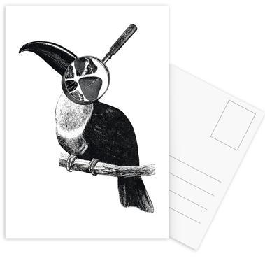 Loeping Good (Bird) Postcard Set