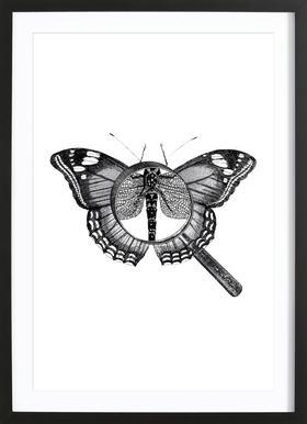 Loeping Good (Butterfly) ingelijste print
