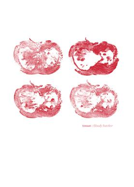 Bloody Butcher Canvas Print