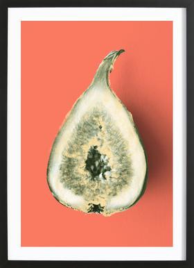 Ode aux Légumes - Fig Framed Print