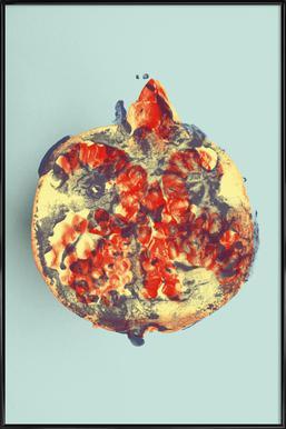 Ode aux Légumes - Pomegranate ingelijste poster