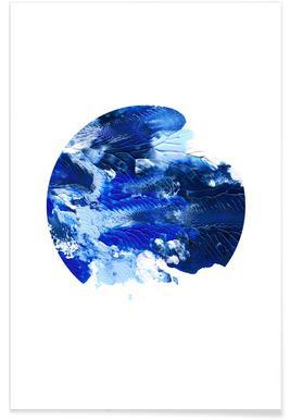 Holy Smudge (Blue) - Affiche