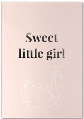 Sweet Little Girl carnet de notes