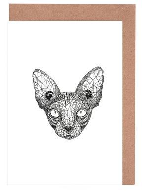 Sphynx Cat wenskaartenset